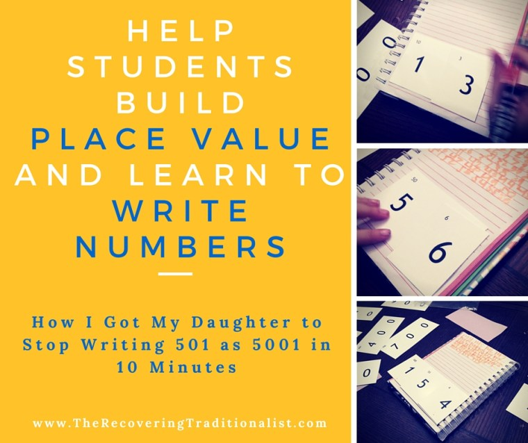Help Students Build Place Value and Learn to Write Numbers