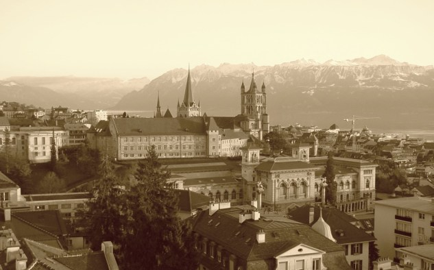 Picture of Lausanne in the 1920s