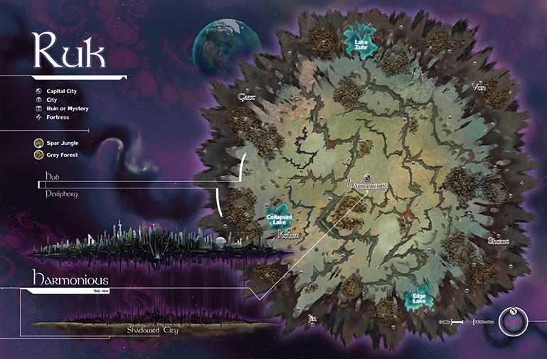 Map of Ruk