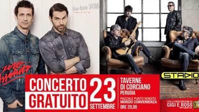 Riapre con concerto lo store Mondo Convenienza di Perugia