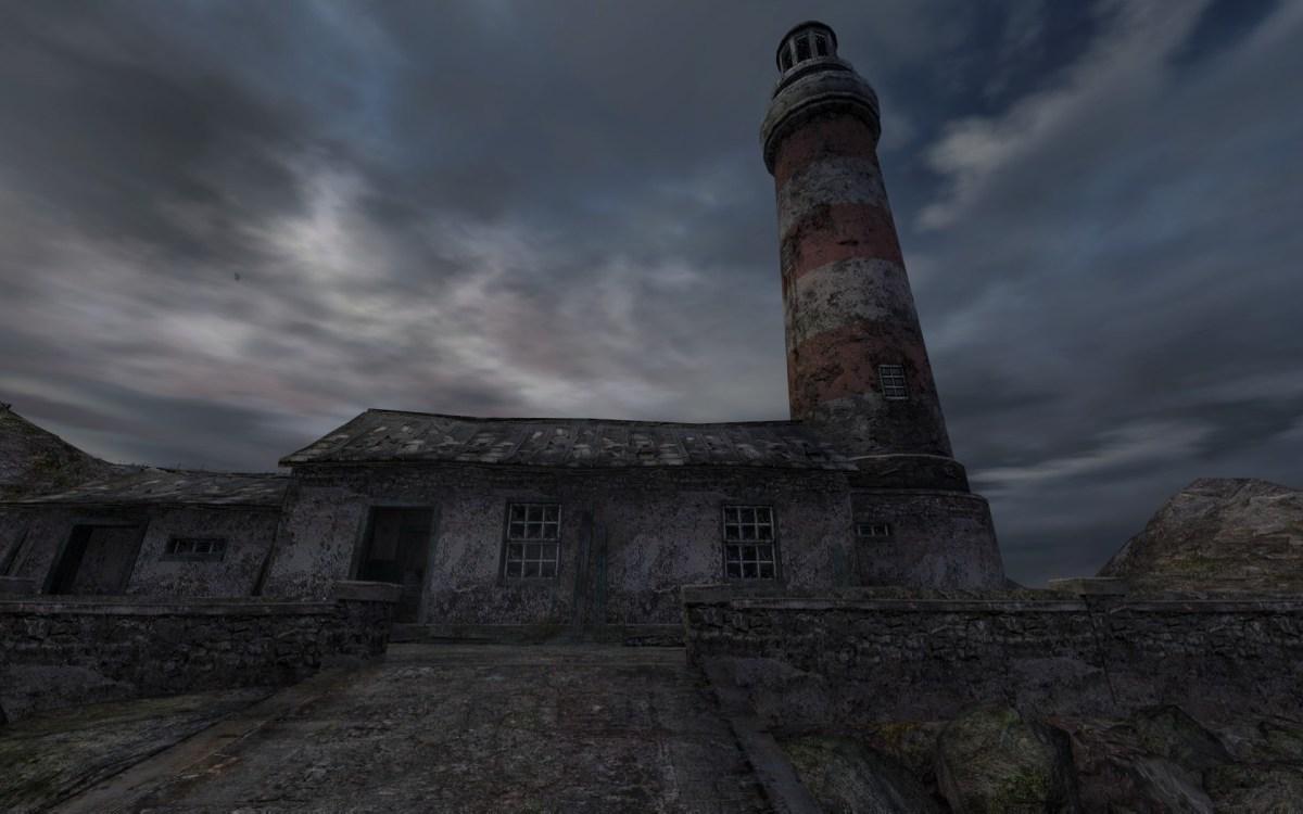 Dear Esther Screenshot Wallpaper Start Lighthouse