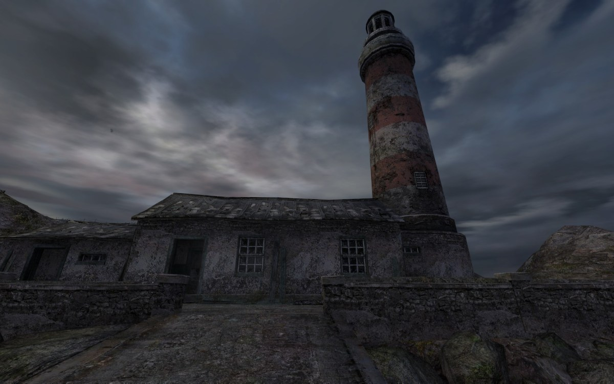Dear Esther Screenshot Wallpaper Start Lighthouse