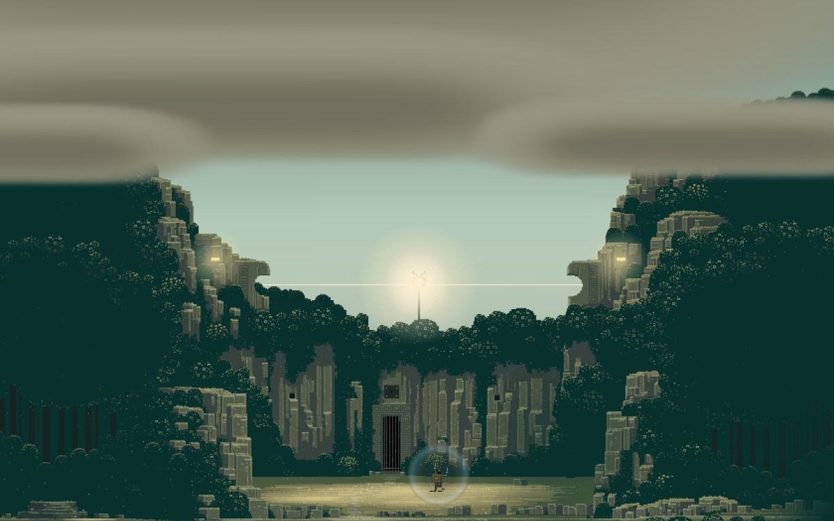 Superbrothers Sword and Sworcery EP Screenshot Wallpaper Trigon Garden