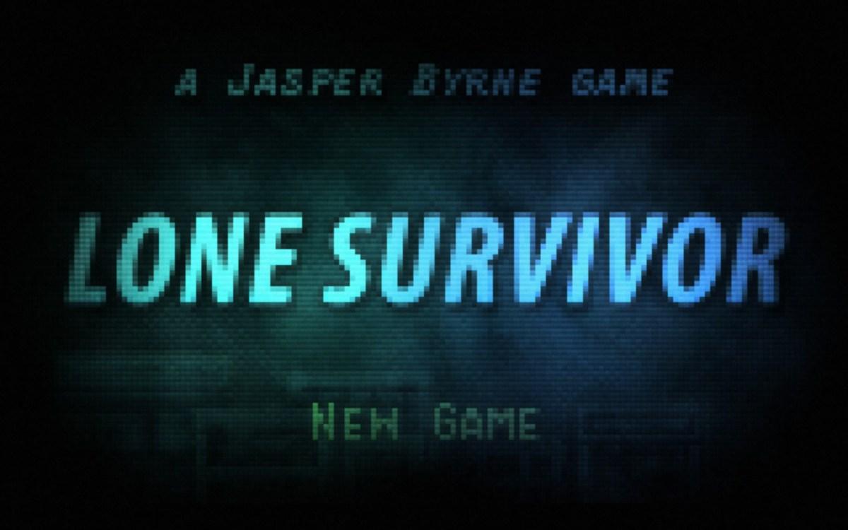 Lone Survivor Screenshot Wallpaper Title Screen