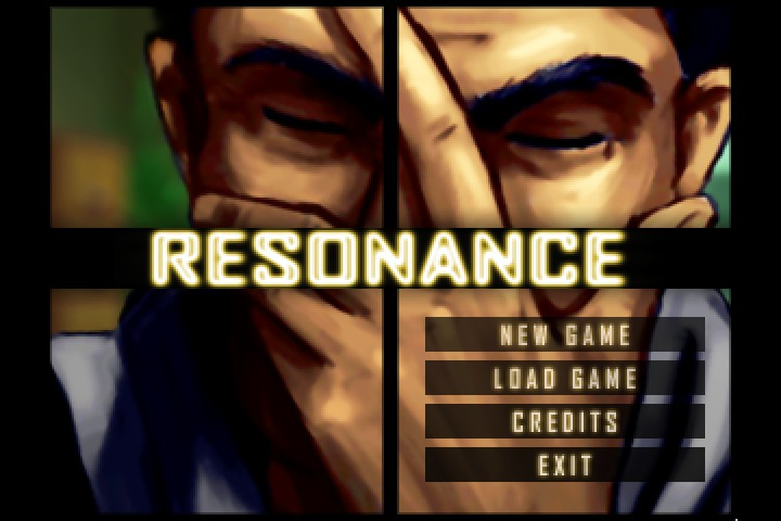 Resonance Screenshot Wallpaper Title Screen