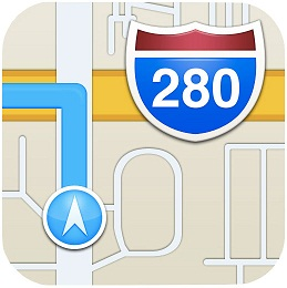 iOS 6 Maps Icon
