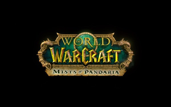 World of Warcraft Mists of Pandaria Screenshot Wallpaper Title Screen