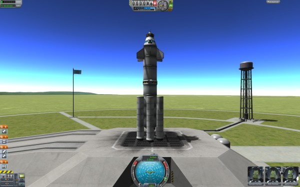 Kerbel Space Program Screenshot Wallpaper Launch
