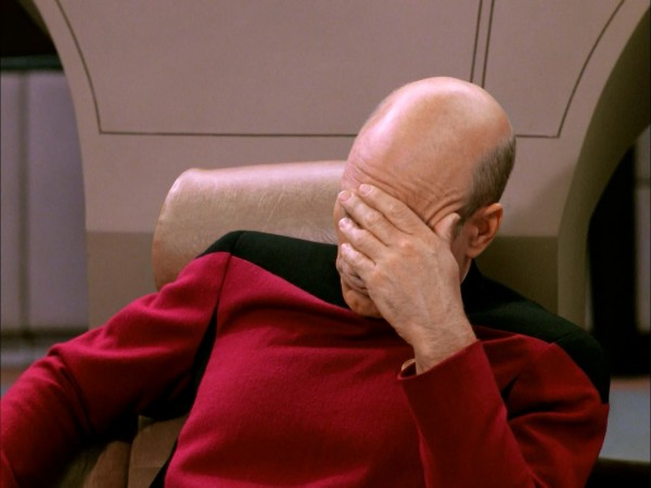 Picard Facepalm