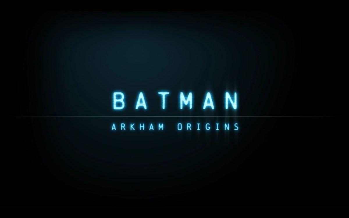 Batman Arkham Origins Review Screenshot Wallpaper Title Screen