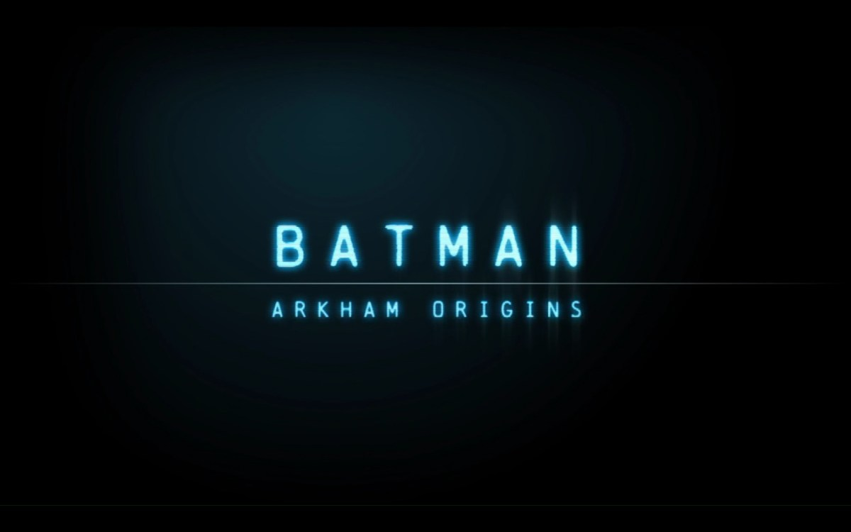 Batman Arkham Origins Review Screenshot Wallpaper Title Screen