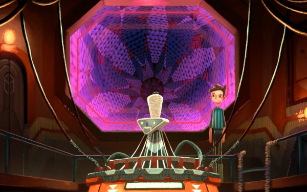 Broken Age Review Screenshot Wallpaper Space Weaver