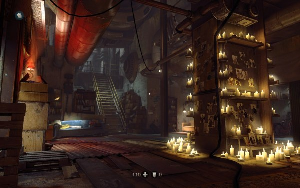 Wolfenstein The New Order Review Screenshot Wallpaper Resistance Hideout