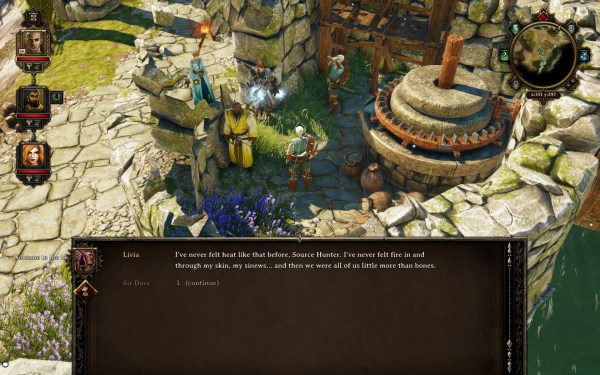 Divinity Original Sin Review Screenshot Wallpaper Fire in me Bones