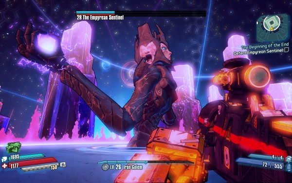 Borderlands The Pre Sequel Review Screenshot Wallpaper Empyrean Sentinel