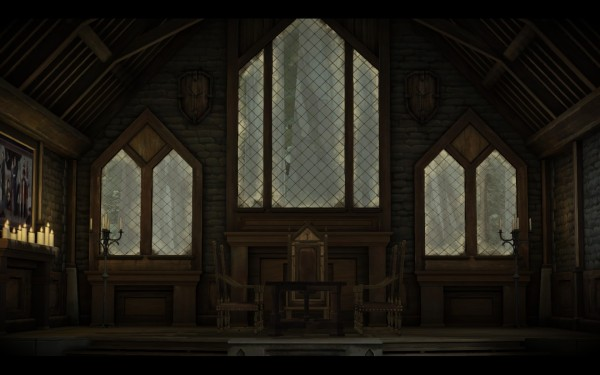 Game of Thrones Review Screenshot Wallpaper The Council is Empty