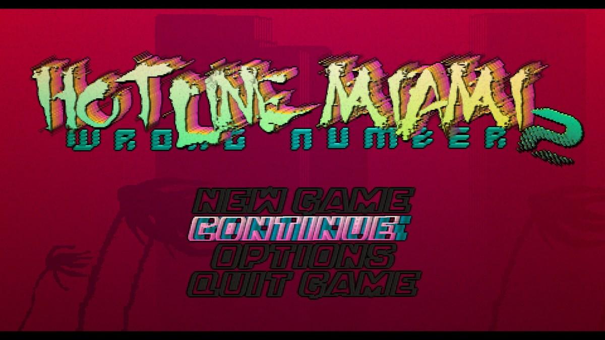 Hotline Miami 2  Wrong Number Review Screenshot Wallpaper Title Screen