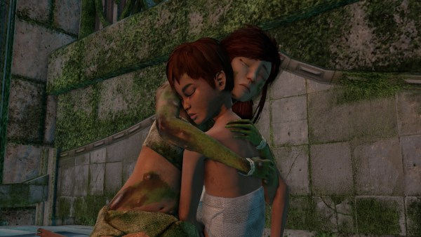 Submerged Review Screenshot Wallpaper Sisterly Love