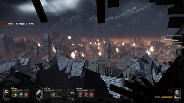 Warhammer Vermintide Review Screenshot Wallpaper A Ruinous View