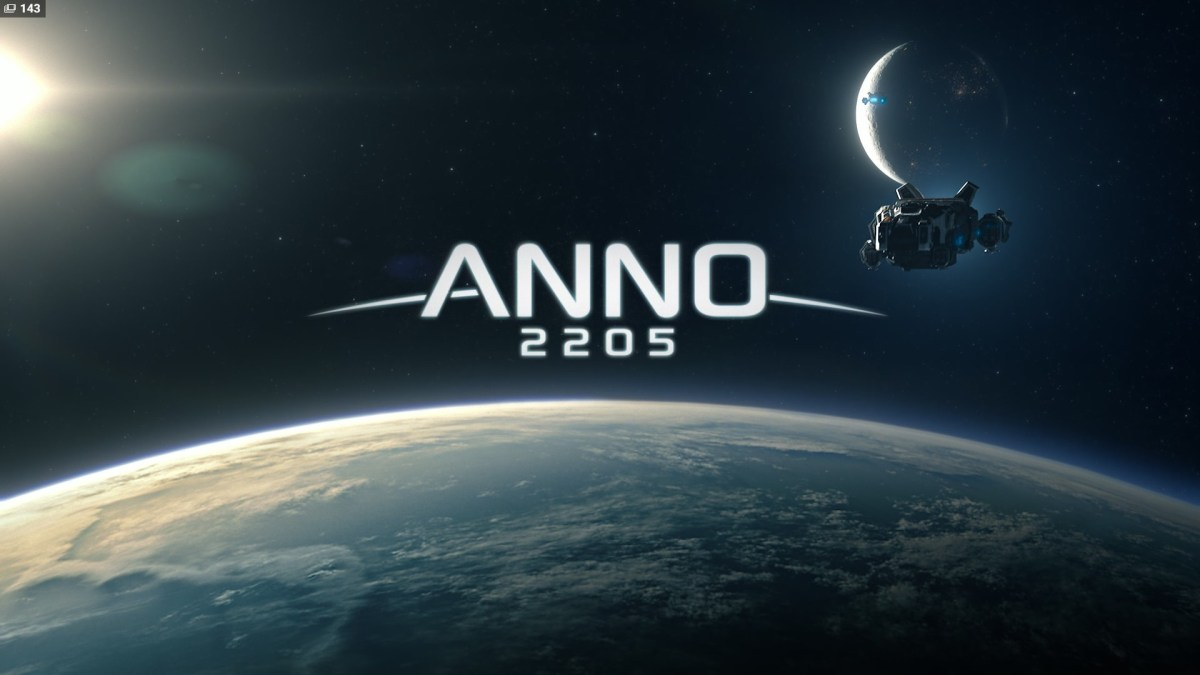 Anno 2205 Review Screenshot Wallpaper Title Screen