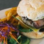 the works burger at The Regent Redfern