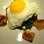 The Chicken And The Egg (And Broccoli Rabe And Polenta…)