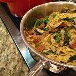 Mung Bean Pasta With Sausage And Broccoli Rabe