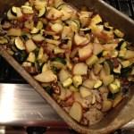 Roasted Vegetable Salad With Black Pepper Balsamic Vinaigrette