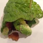 Chicken, Bacon, And Avocado Kale Wraps