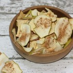 Dehydrated Apples And Cinnamon
