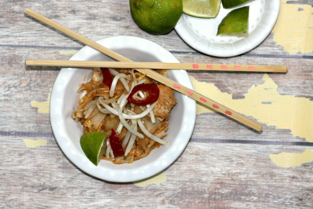 Thai Chicken And Noodles