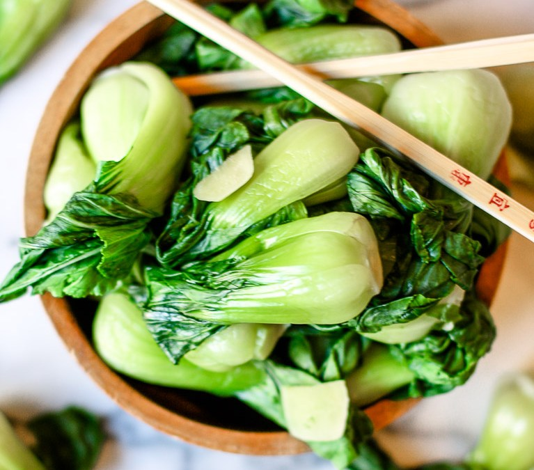 Simple Baby Bok Choy