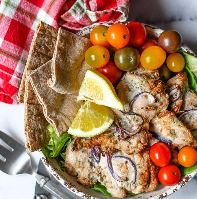 Chicken Souvlaki Bowls