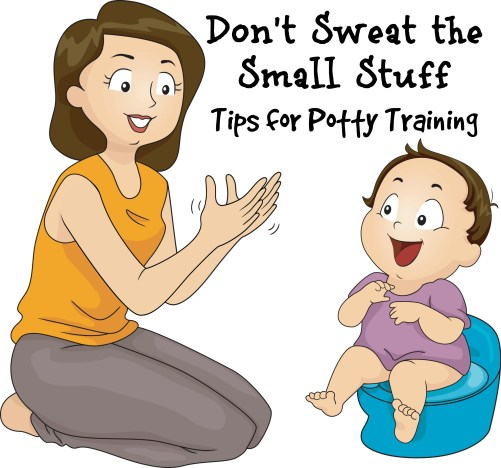 don't sweat the small stuff-tips for potty training