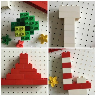 Lego Christmas Decorations by Treading on Lego