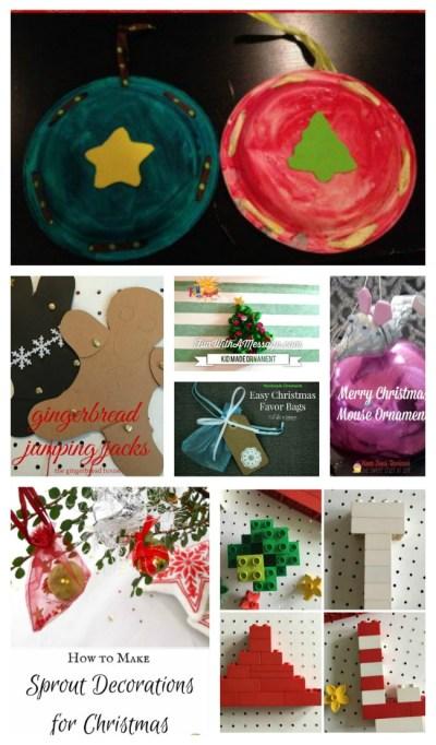 homemade kid Christmas ornaments