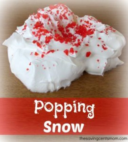 Popping Snow