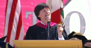 Ken Burns Stanford Commencement