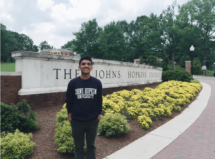 After deciding that Public Health was the major for him, Rushabh Doshi applied to Johns Hopkins, where he plans on becoming heavily involved in the community as well as conduct research at the world-renown Hopkins Hospital. Photo credit: Los Cerritos News