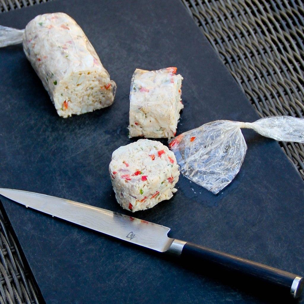 crabcake rolls