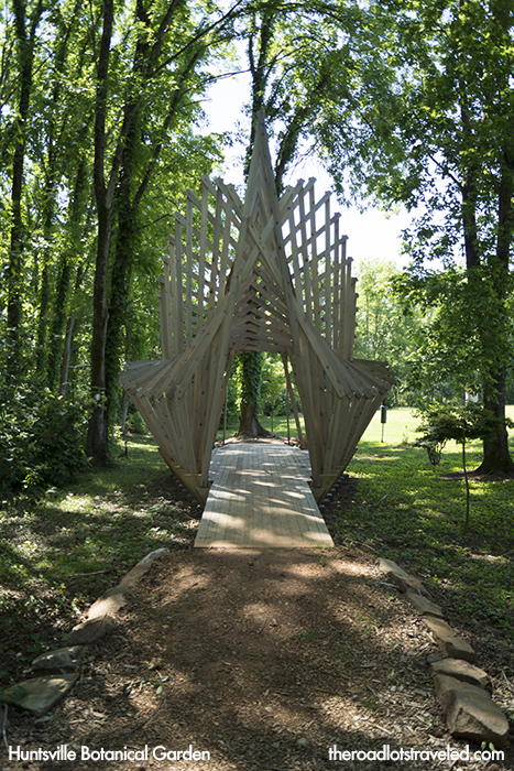 Nature Trail in Huntsville Botanical Garden