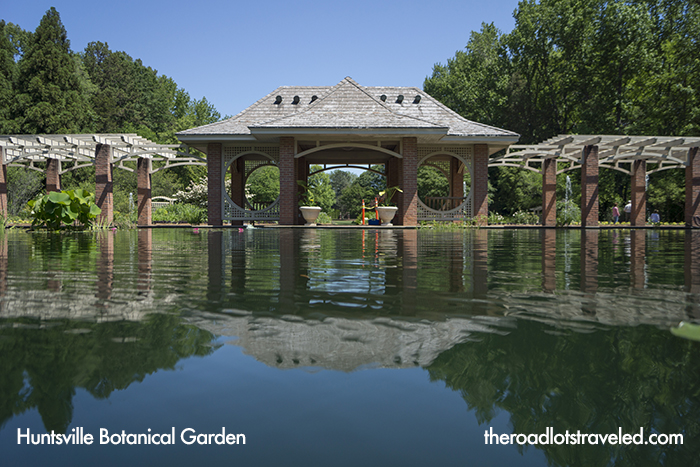 Aquatic Garden in Huntsville Botanical Garden