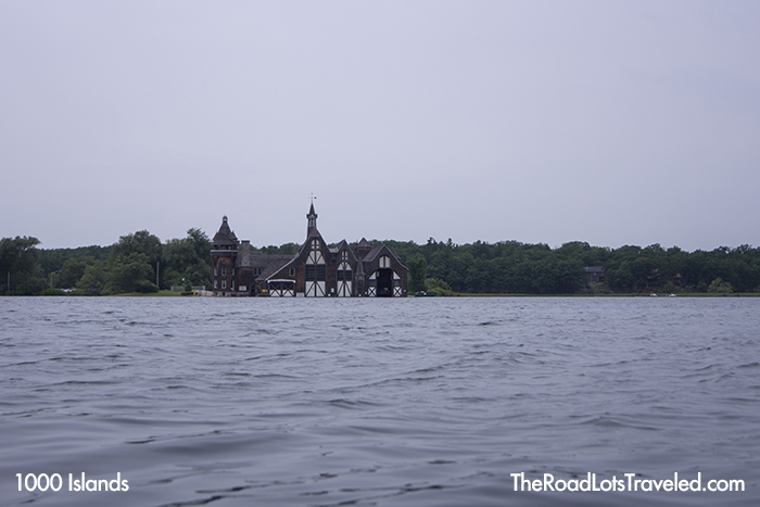 Boldt Castle Yacht House on Wellesely Island in 1000 Islands