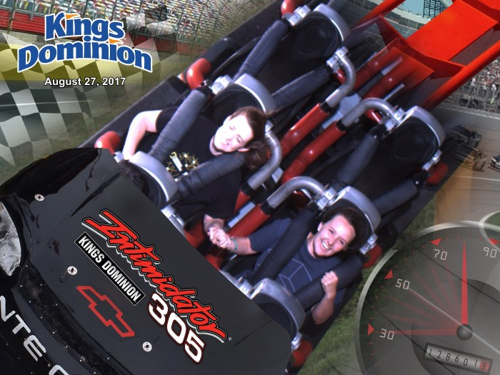 Kings Dominion Intimidator 305 Roller Coaster