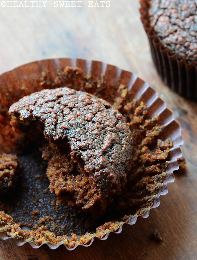Paleo Cornmeal Molasses Muffins