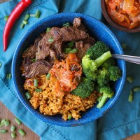 Korean Bulgogi and Rice Bowls + Giveaway!
