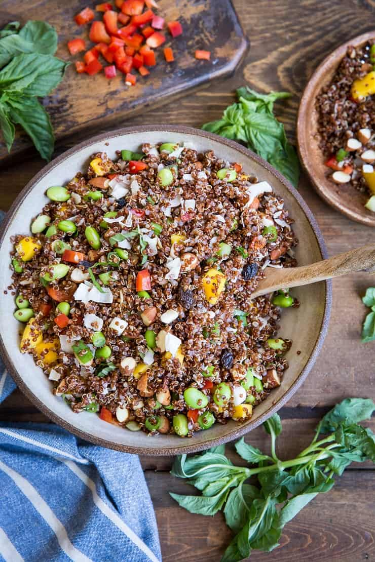 Absorbing Sharingwith Friends Mango Edamame Quinoa Salad A Nutritious Side Dish Family Mango Edamame Quinoa Salad Roasted Root Is Puffed Quinoa Paleo Is Red Quinoa Paleo nice food Is Quinoa Paleo