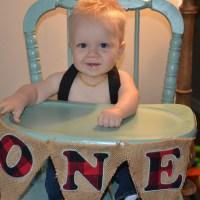 Everett's Lumberjack First Birthday