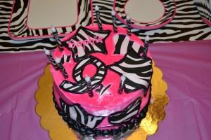 Sophie's Zebra Cake