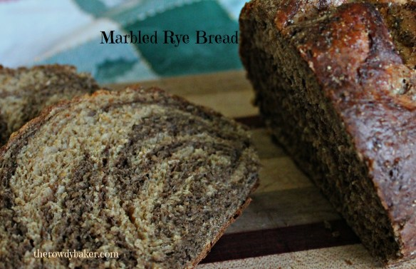 Marbled Rye Bread from The Rowdy Baker